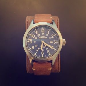 Timex Expedition Indiglo Watch. Used.